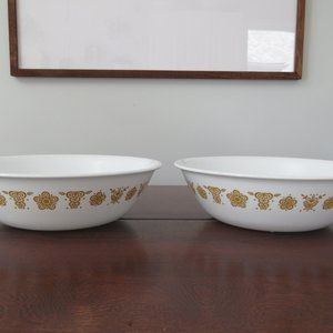 """Corelle Butterfly Gold 8 1/2"""" Serving Bowl, Large"""